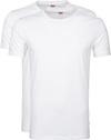 Levi's T-shirt Ronde Hals Wit 2Pack