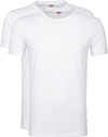 Levi's T-shirt Round Neck White 2-Pack