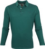Marc O'Polo Poloshirt LS Stripes Green