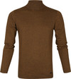 No-Excess Turtleneck Bronze