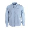 NZA Hemd Blau Grafik 17GN539