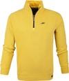 NZA Mangawhai Half Zip Sweater Yellow