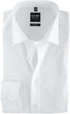 Olymp Level Five Shirt Body-Wit White