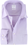 OLYMP Luxor Hemd Violett Comfort Fit