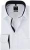 OLYMP Luxor MF Wit Dessin Overhemd