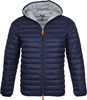 Save the Duck Giga Jacke Hooded Dunkelblau