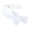 Self Tie Bow Tie White