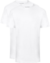 Slater 2-pack American T-shirt Wit