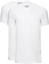 Slater 2-pack Basic Fit T-shirt Wit