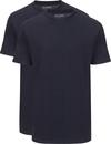 Slater 2er-Pack American T-shirt Dunkelblau