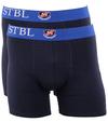 Suitable Boxershort 2Pack Donkerblauw Blauw