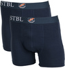 Suitable Boxershort 2Pack Navy