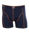 Suitable Boxershort Navy Orange Stitch