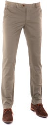 Suitable Chino Broek Olijfgroen
