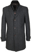 Suitable Coat Herring Antraciet
