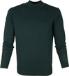 Suitable Cotton Turtle Pullover Dark Green