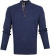 Suitable Fine Lambswool 9g Mocker Pullover Navy