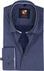 Suitable Overhemd Navy 183-6
