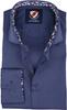 Suitable Overhemd TF Donkerblauw