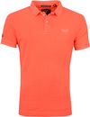 Superdry Vintage Destroyed Polo Oranje