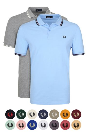 2 Fred Perry polo's voor 129.90