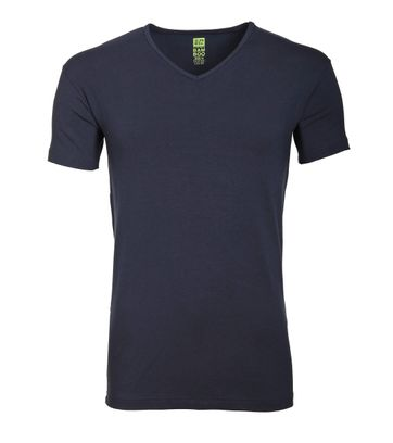 Alan Red Bamboo T-shirt Navy