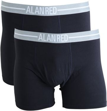 Alan Red Boxershorts Navy 2er-Pack