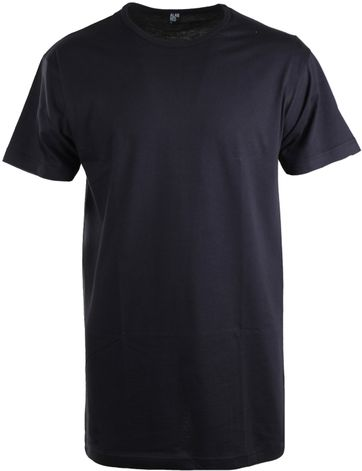 Alan Red Derby Extra Lang T-Shirt Navy (1Pack)