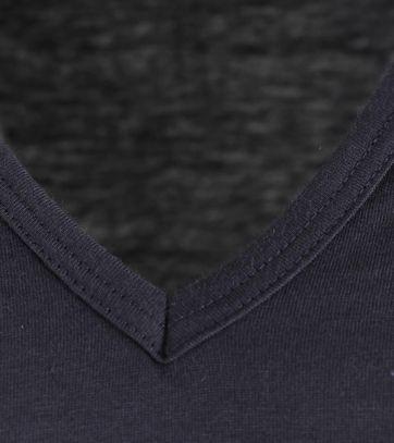 Alan Red Extra Lang T-Shirts Vermont Dunkelblau (2er-Pack)