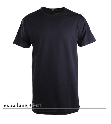 Alan Red Extra Lange T-Shirts Derby Navy (1pack)