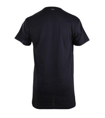 Detail Alan Red Extra Lange T-Shirts Vermont Navy (1pack)