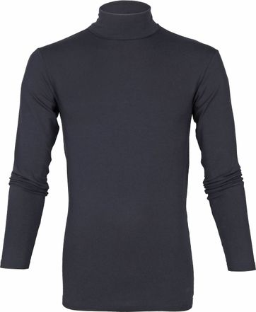 Alan Red Master Col Longsleeve Shirt Donkerblauw