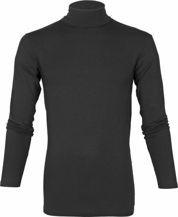 Alan Red Master Turtleneck Longsleeve Shirt Black