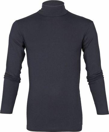 Alan Red Master Turtleneck Longsleeve Shirt Navy