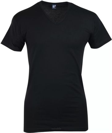 Alan Red Oklahoma Stretch T-Shirt V-Hals Schwarz (1 st.)