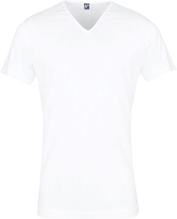 Alan Red Oklahoma T-shirt Stretch White 2-Pack