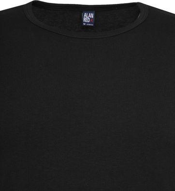 Alan Red Olbia Longsleeve T-shirt Zwart