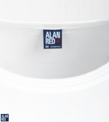 Alan Red Olbia Longsleeve Wit (1Pack)