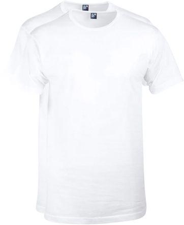Alan Red T-Shirt Derby Weiß (2er-Pack)