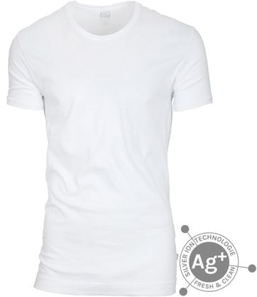 Alan Red T-shirt Fresh Weiss
