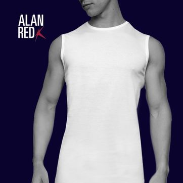 Alan Red T-Shirt Montana  Ärmellos (2er-Pack)
