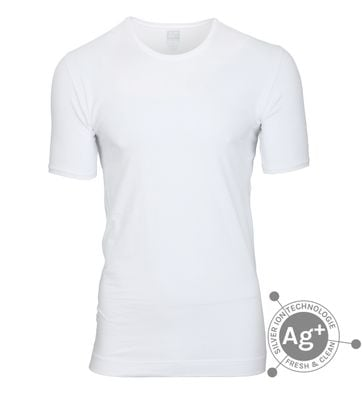 Alan Red T-shirt Osaka White