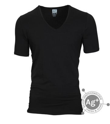 Alan Red T-shirt Oxford Zwart
