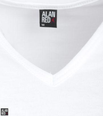 Alan Red T-Shirt V-Ausschnitt Vermont (2er-Pack)