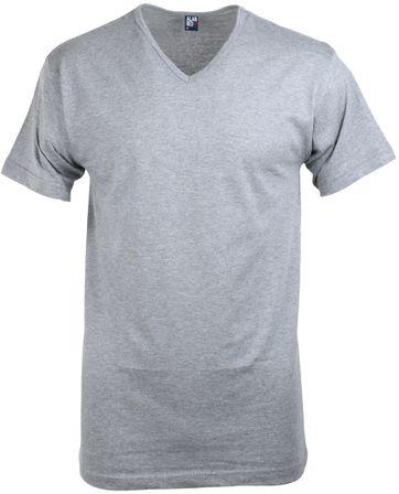Alan Red T-Shirt V-Ausschnitt Vermont Mausgrau (1er- Pack)