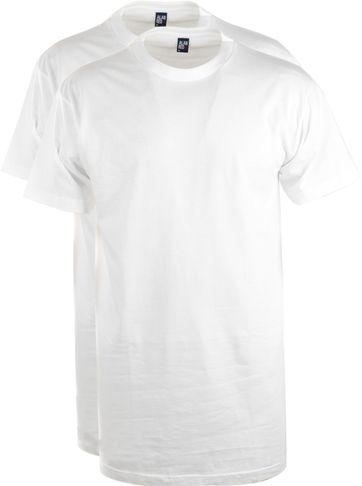 Alan Red T-Shirt Virginia Extra Long (2pack)