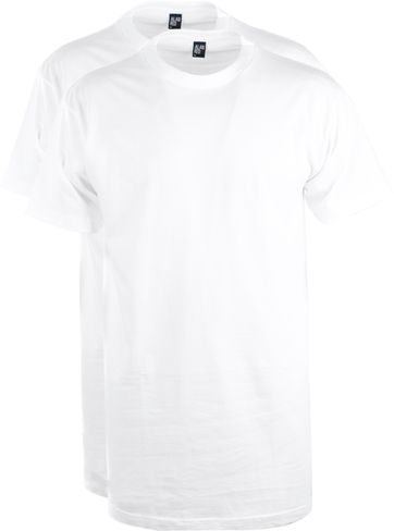 Alan Red T-Shirt Virginia Extra Long (2pack)