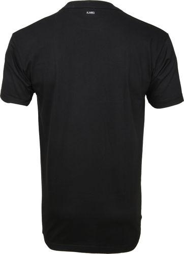 Alan Red T-shirt Virginia O-Neck Black 2-Pack