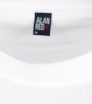 Alan Red T-Shirt Virginia Weiß Extra Lang (2er-Pack)