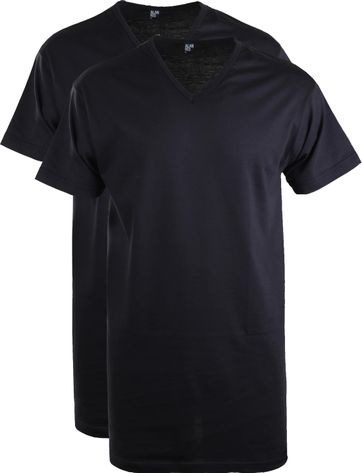 Alan Red Vermont Extra Lange T-Shirts Navy (2Pack)